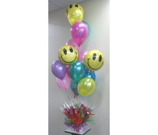 Chocolate Pot and Balloon Bundle