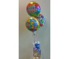3 Foil Balloons and Chocolate's