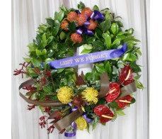 ANZAC Wreath- #004