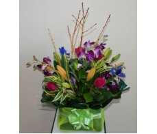 Vibrant Modern Box Arrangement