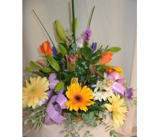 Seasonal Box Arrangement