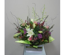 Exquisite Pastel Designer Box Arrangement