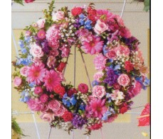 Bright Pastel Wreath