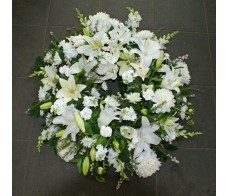 Designer White Wreath
