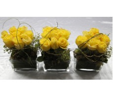 Yellow  Rose Table display
