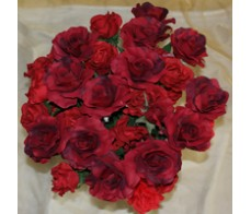 Artificial Red Rose's each